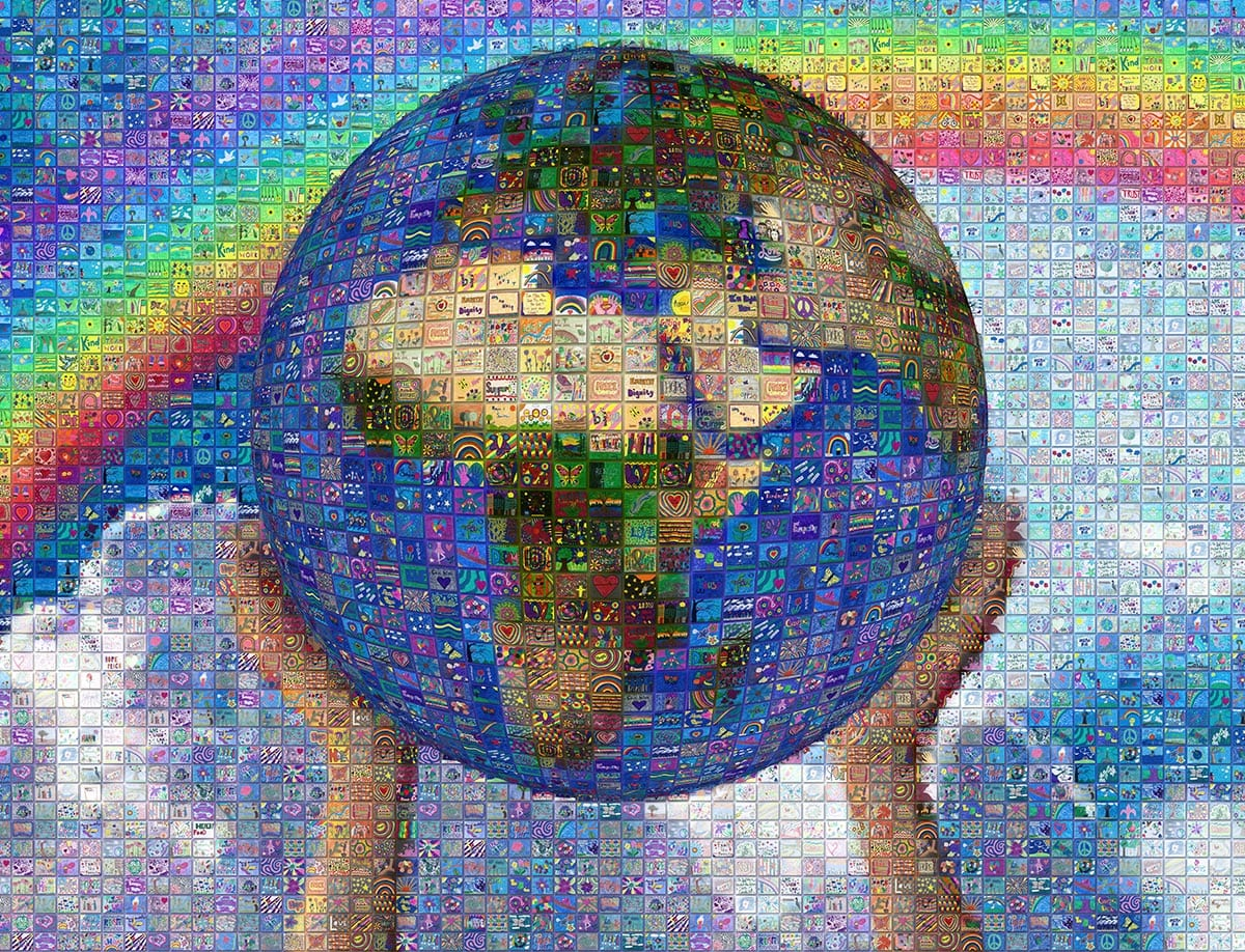 A Closer Look at a Digital Mosaic